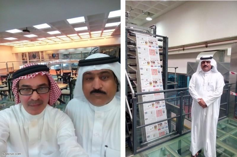 المدير العام ورئيس التحرير يقوم بزيارة لمؤسسة الجزيرة للصحافة والإعلام