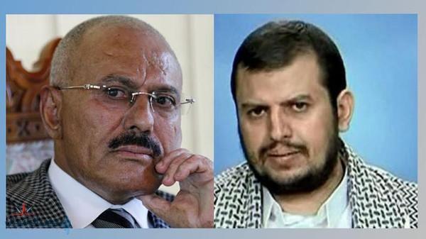 الحوثي يرد على تهديد صالح بإنهاء الشراكة: لا يشرفنا