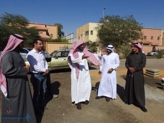 الشيخ عبيد بن عبد الله الجلاَل يقوم بزيارة تفقدية لإدارة المساجد والدعوة والإرشاد في محافظة دومة الجندل