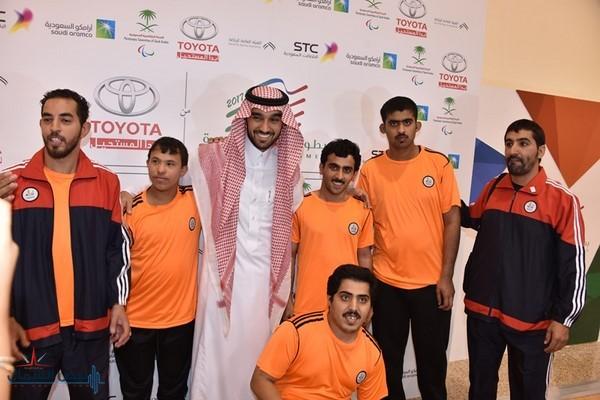 نائب رئيس مجلس إدارة هيئة الرياضة يفتتح دورة ألعاب البارا السعودية الأولى