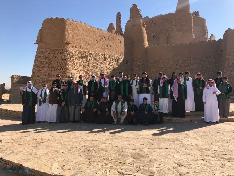 """طلاب الرياض يتعرفون على الجوف عبر """"عيش السعودية"""""""