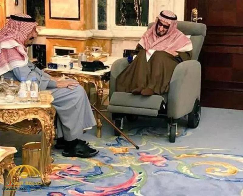 شاهد.. خادم الحرمين يزور أخاه الأمير بندر بن عبد العزيز