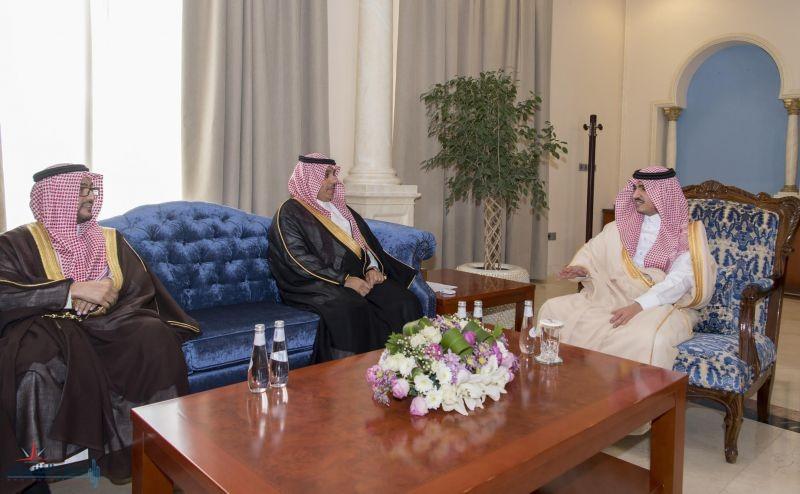 الأمير بدر بن سلطان يلتقي رئيس الهيئة العامة للإحصاء