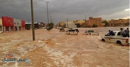 القريات تفقد ملايين الأمتار المكعبة من مياه الأمطار العذبة سنوياً دون الإستفادة منها..!