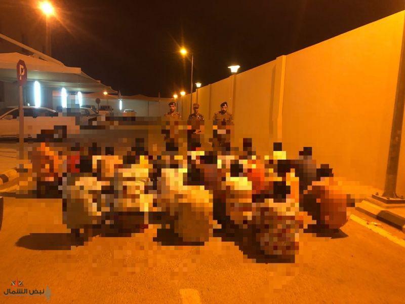 شرطة منطقة الجوف تواصل الحملات الأمنية ضمن حملة وطن بلا مخالف