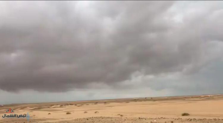 للفترة ما بين يوم غدٍ الجمعة وحتى الإثنين حالة مطرية متفرقة على مناطق الشمال