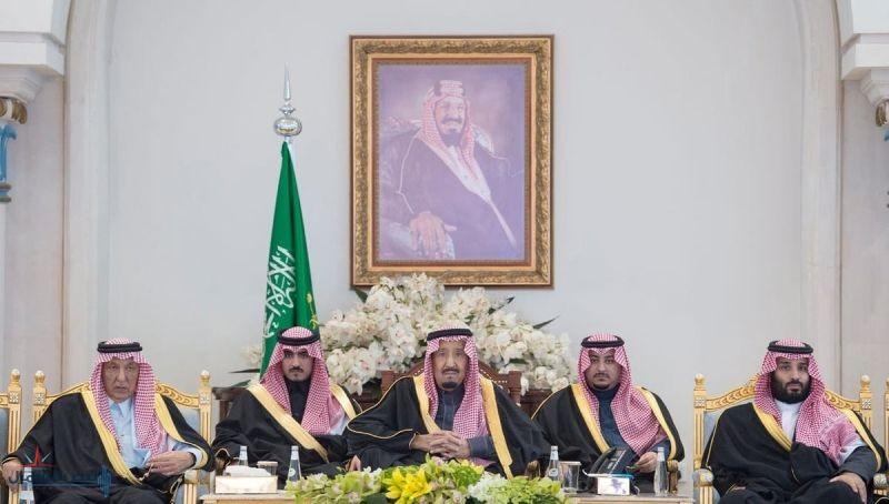 خادم الحرمين الشريفين يُشرف حفل استقبال أهالي منطقة الجوف