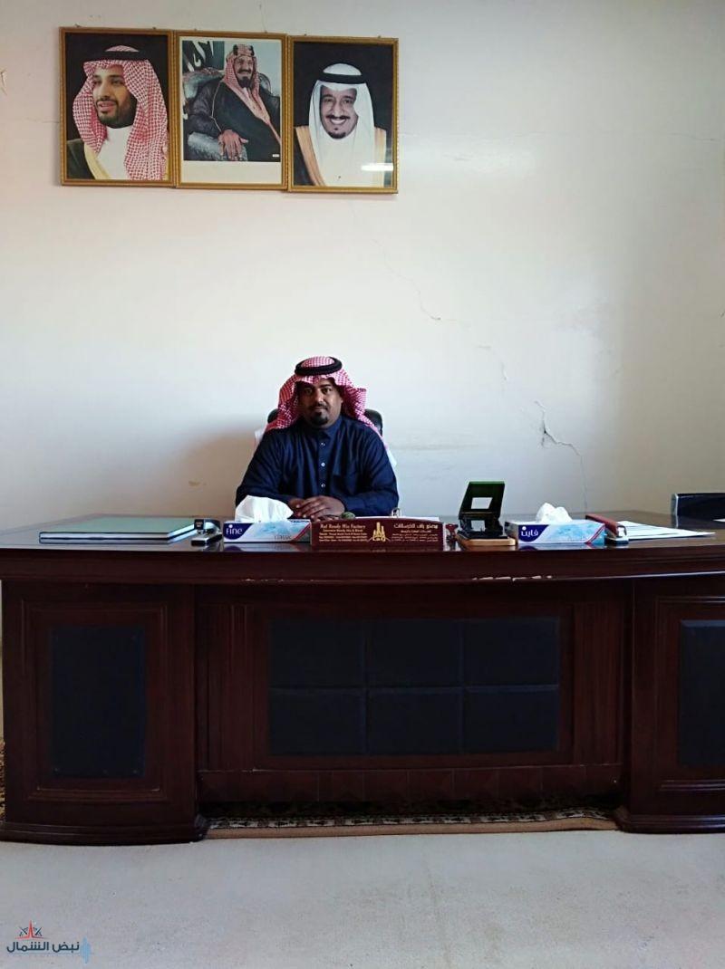 بدر بن غريب القزيعي إلى المرتبه السادسة بمحافظة طبرجل