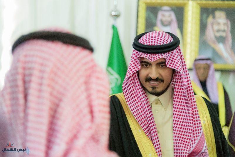 أمير الجوف يلتقي المواطنين بمحافظة طبرجل خلال جولته التفقدية
