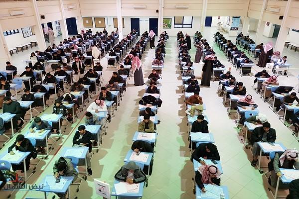 38 ألف طالب وطالبة يؤدون الاختبارات في مدارس الجوف