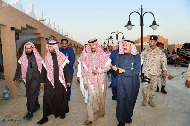 وزير الحرس الوطني يزور مقر الجوف الجديد