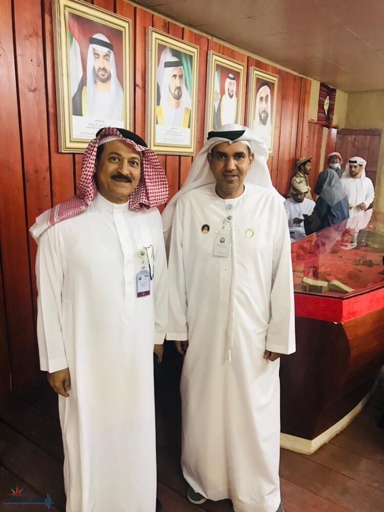الذويبان يزور جناح الامارات بالجنادرية ويشكر الوفد المشارك