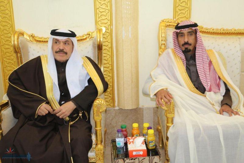 الجريد يشرف حفل زفاف أبناء الدكتور محمد الريض