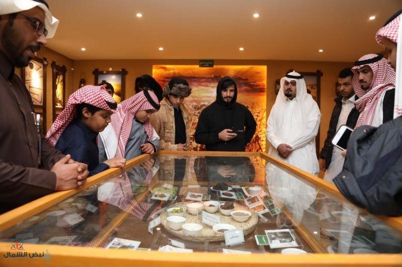 فرع وزارة البيئة يقدم لزوار الجنادرية 8 منتجات زراعية جوفية