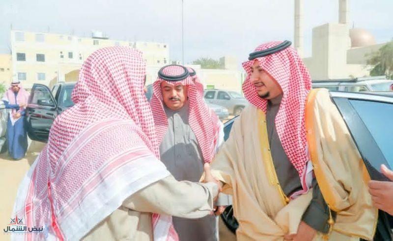 نائب أمير الجوف يعزي أسرتي العلي والعيشان بوفاة فقيدتهم