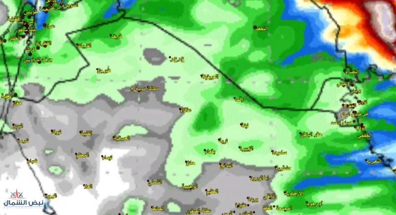 توقع حالة مطرية على شمال المملكة وشرقها من يوم السبت وحتى الإثنين