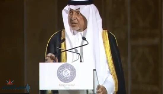خالد الفيصل يوجه كلمات نابعة من القلب لخادم الحرمين : رجل الزمان والمكان