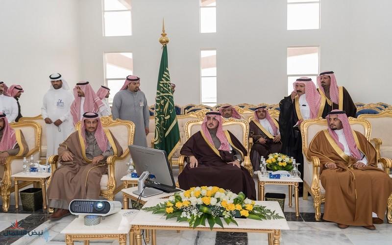 أمير الجوف يستهل زيارته لمحافظة طبرجل بافتتاح مركز الاحتفالات ومبادرة أنسنة المدن
