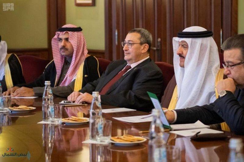 نائب رئيس الوزراء الروسي يستقبل الأمير سلطان بن سلمان