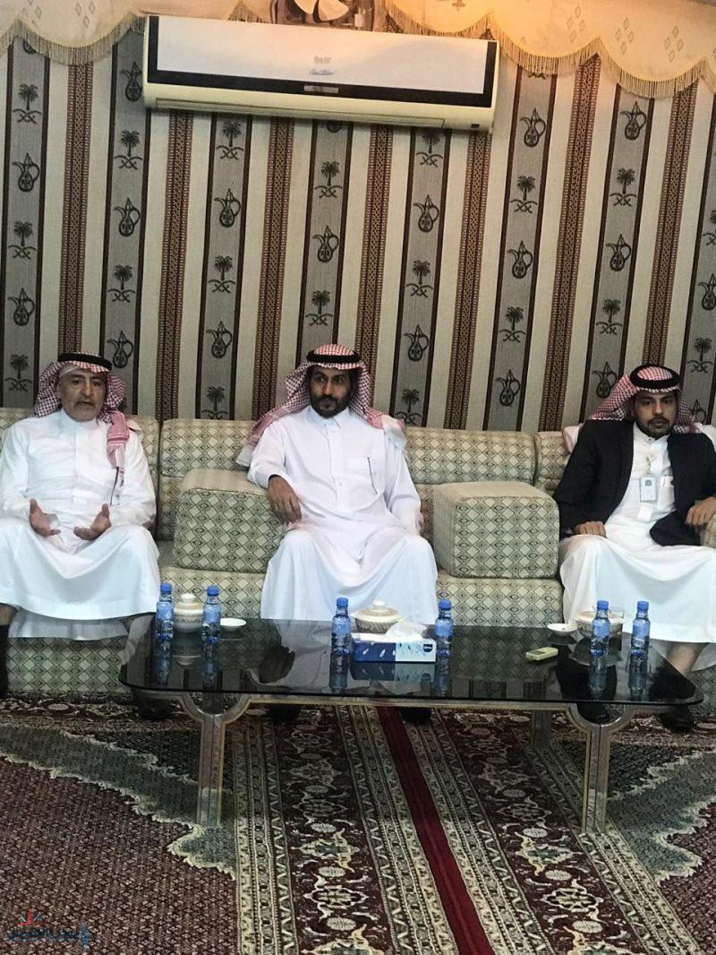 محافظ القريات يستقبل المهندس عبدالله الجربوع ومرافقيه