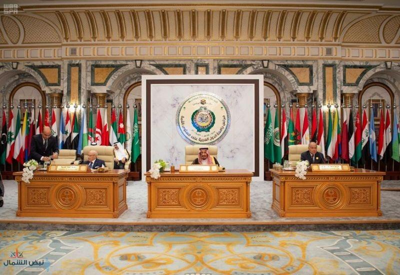 بدء أعمال القمة العربية الطارئة برئاسة خادم الحرمين الشريفين
