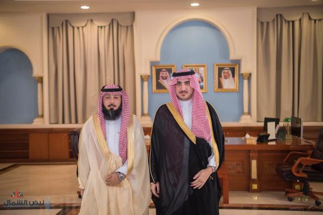 أمير الجوف يستقبل مدير بنك التنمية المعيّن حديثاً