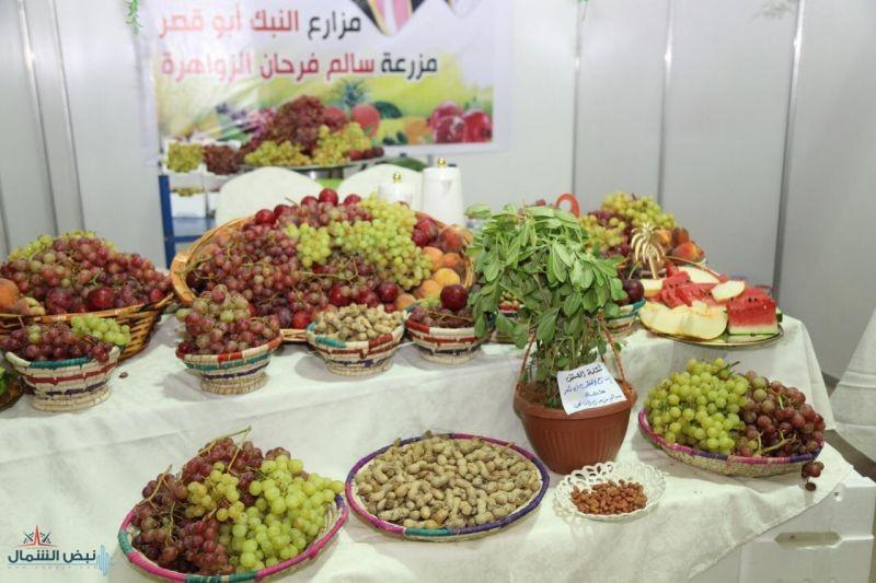 أكثر من 200 طن فواكه .. مليون ونصف المليون ريال هو حجم المبيعات بمهرجان الفاكهة  بطبرجل