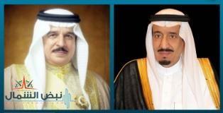 خادم الحرمين الشريفين يتلقى برقية تهنئة من ملك البحرين بمناسبة اليوم الوطني التاسع والثمانون