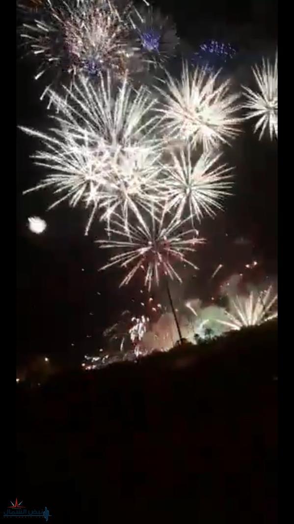 """""""الترفيه"""" توضح ملابسات فيديو اشتعال النار بإحدى منصات الألعاب النارية قرب استاد الملك فهد"""