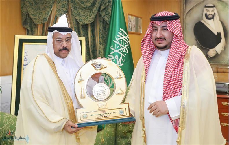 نائب أمير منطقة الجوف يستقبل أمين المنطقة