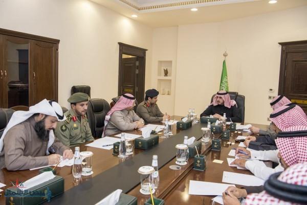 أمير الجوف يرأس اجتماع اللجنة العليا لبرنامج التوطين