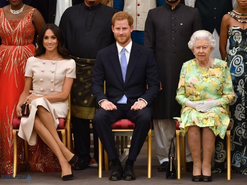 """تجريد الأمير هاري وزوجته ميغان من لقب """"صاحب السمو الملكي"""""""