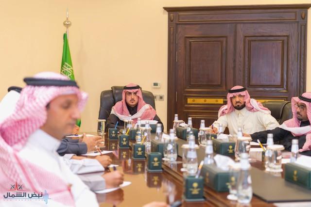 أمير الجوف يستقبل نائب وزير الصناعة والثروة المعدنية لشؤون التعدين