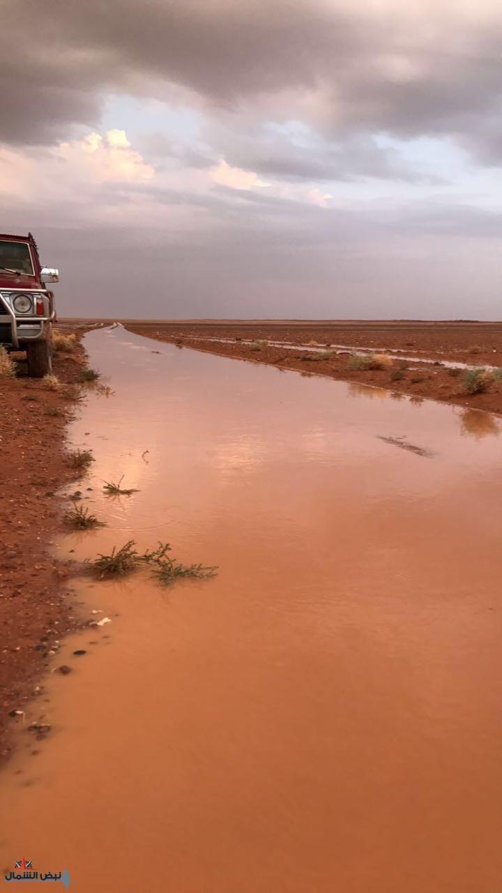 مناطق شمال المملكة تستعد لاستقبال حالة من الأمطار والأجواء الباردة