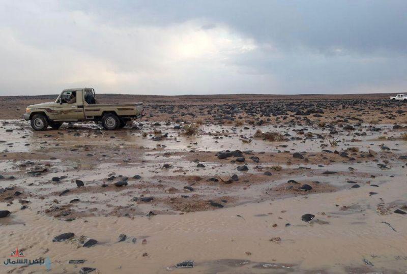 حالة مطرية يوم الأربعاء على كل من الجوف وتبوك وأجزاء من الحدود الشمالية