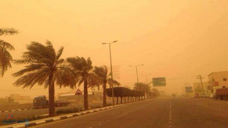 """""""الإنذار المبكر"""": رياح وأتربة على الرياض وعدد من المناطق وأمطار رعدية بمناطق أخرى"""
