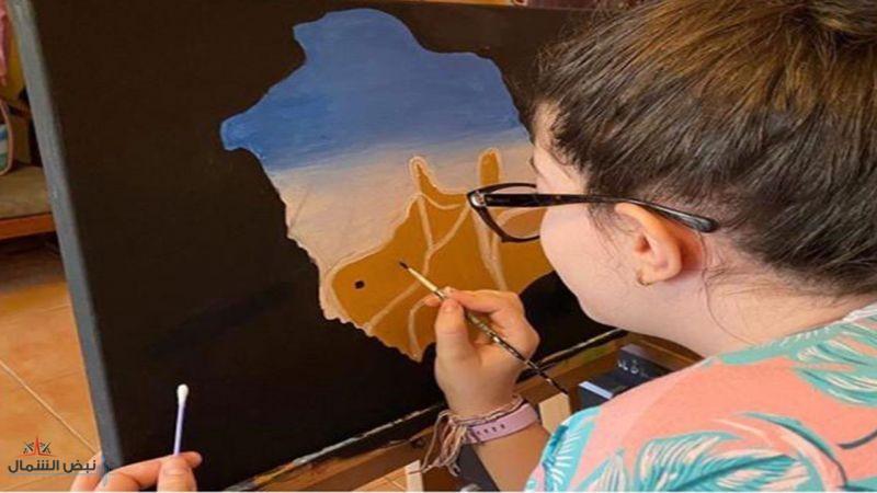 رسمت حي الطريف بالدرعية.. وزير الثقافة يشيد بلوحة الفنانة الصغيرة ود الغانم