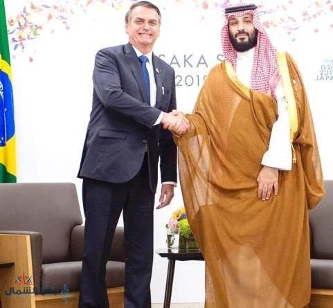 ولي العهد يتلقى اتصالاً من الرئيس البرازيلي