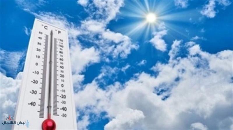 أعلى درجات الحرارة المسجلة في المملكة اليوم الإثنين
