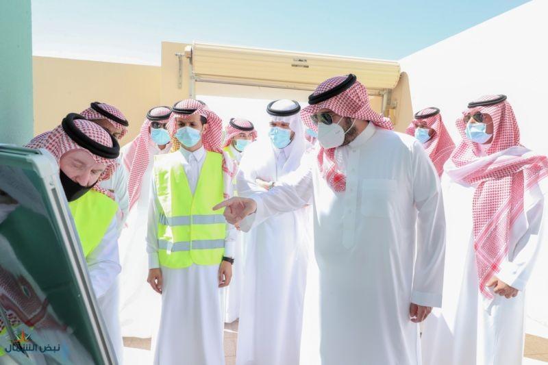 أمير منطقة الجوف يقف على المشاريع التنموية ويؤكد أهمية التنفيذ وَفْق المعايير المعمول بها
