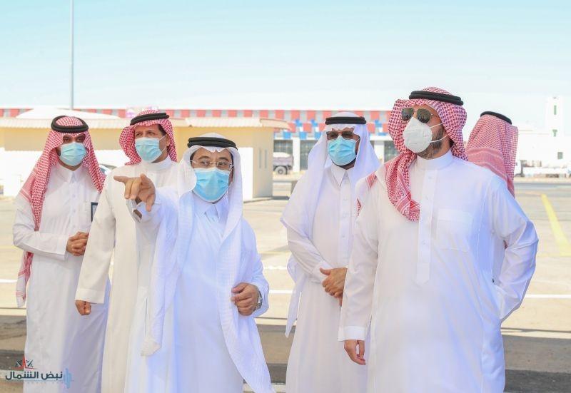 أمير منطقة الجوف يوجه بافتتاح سوق التمور بسكاكا الخميس