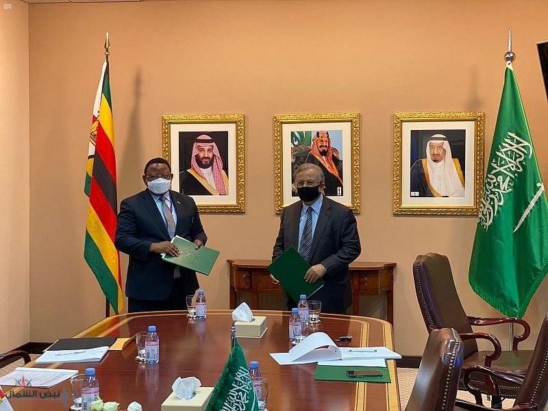 المملكة توقّع اتفاقية إقامة علاقات دبلوماسية مع جمهورية زيمبابوي