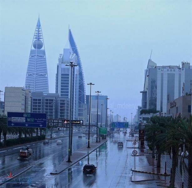 """""""المسند"""": غدا آخر ايام الحالة المطرية """"سقيا"""".. وهطول أمطار متفرقة على هذه المناطق"""