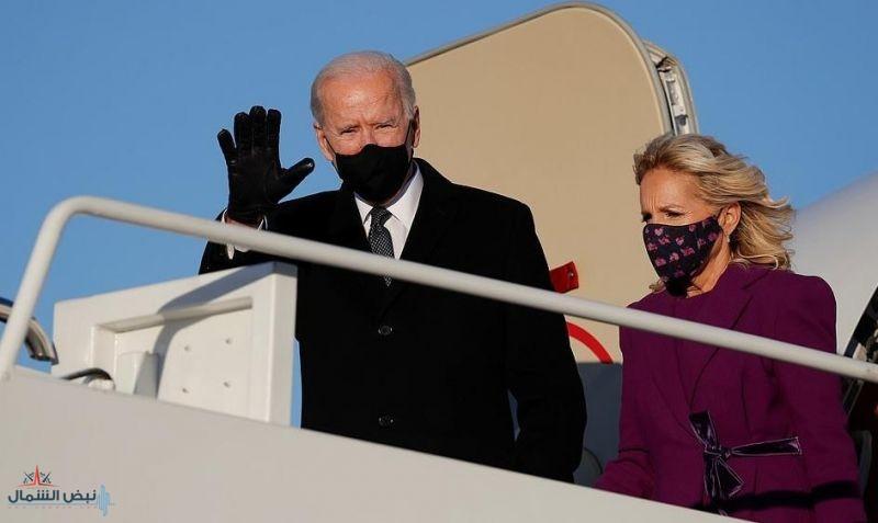 بايدن يصل إلى واشنطن على متن طائرة مستأجرة.. فما السبب؟
