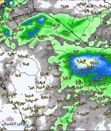 حالة جوية ماطرة متفرقة على أجزاء من مناطق (الجوف والحدود الشمالية وحائل والقصيم والشرقية) من يوم غدٍ الثلاثاء وحتى الأربعاء