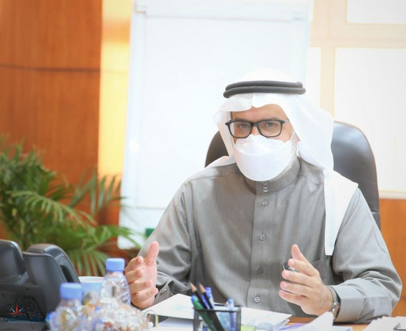 رئيس جامعة الحدود الشمالية يترأس الاجتماع السابع للجنة إدارة الأزمات
