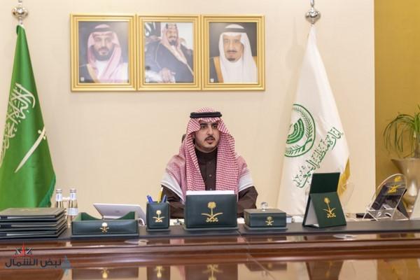الأمير فيصل بن نواف يعقد اجتماعه السابع عشر للجنة الطوارئ بمنطقة الجوف