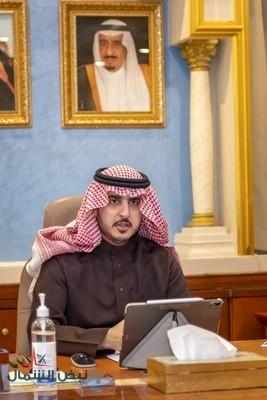 سمو أمير منطقة الجوف يلتقي محافظي المحافظات بالمنطقة