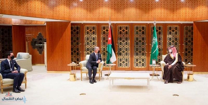ولي العهد وملك الأردن يستعرضان العلاقات الأخوية وأوجه التعاون في مختلف المجالات