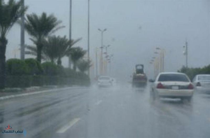 """""""الأرصاد"""": هطول أمطار رعدية مصحوبة بزخات من البرد على عدد من المناطق تستمر حتى الجمعة"""